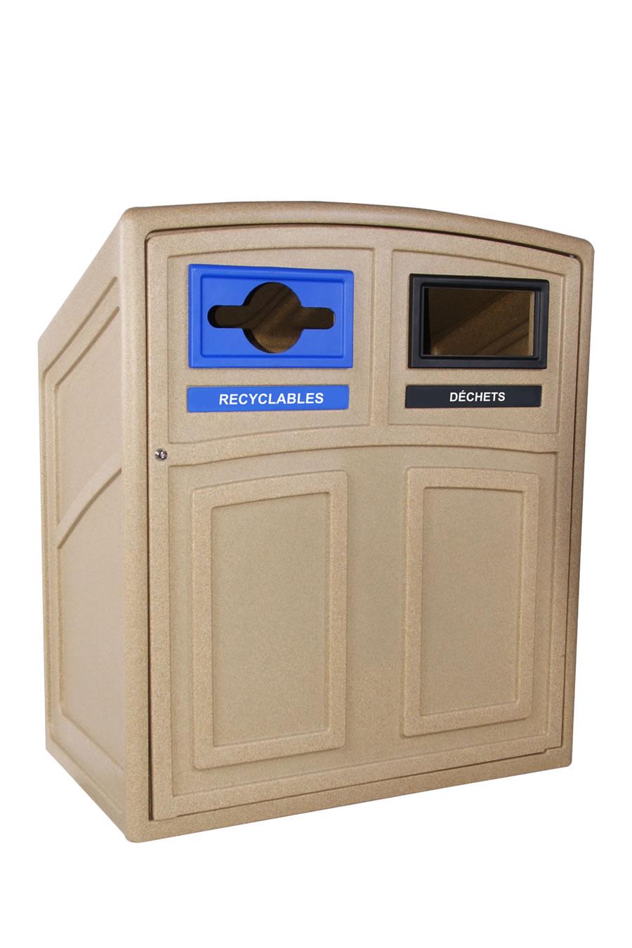 poubelle uptown contenants de recyclage et r cup ration. Black Bedroom Furniture Sets. Home Design Ideas