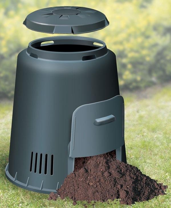 Composteur eco 1 280l composteurs jardin - Composteur de jardin ...